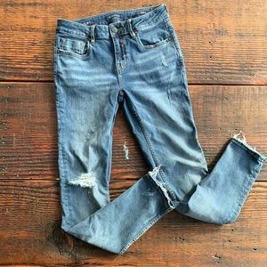 Distressed Vigoss jagger skinny jean